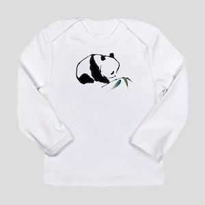 Chinese Panda art Long Sleeve T-Shirt