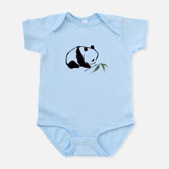 Chinese Panda art Body Suit