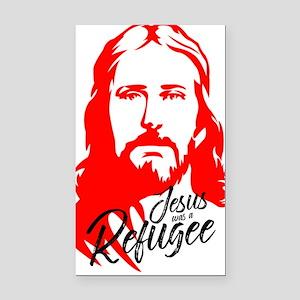 Jesus Rectangle Car Magnet