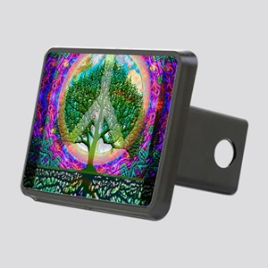 Tree of Life World Peace Hitch Cover