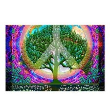 Tree of Life World Peace Postcards (Package of 8)