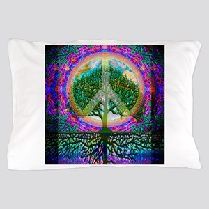 Tree of Life World Peace Pillow Case