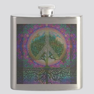 Tree of Life World Peace Flask