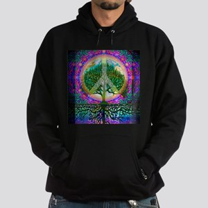 Tree of Life World Peace Hoodie