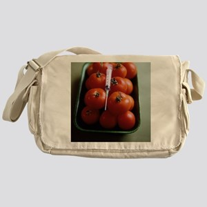 Genetically modified tomatoes - Messenger Bag