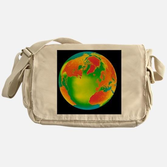 Global warming, conceptual image - Messenger Bag