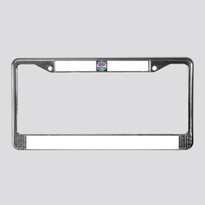 Tree of Life Blessings License Plate Frame