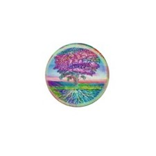Tree of Life Blessings Mini Button