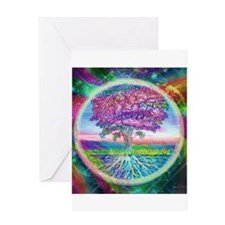 Tree of Life Blessings Greeting Card