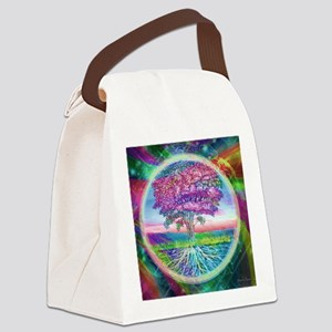 Tree of Life Blessings Canvas Lunch Bag
