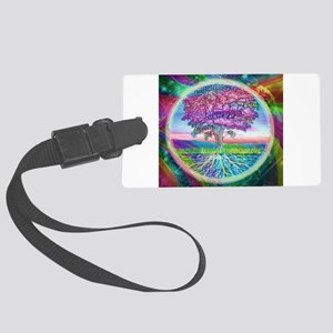 Tree of Life Blessings Luggage Tag