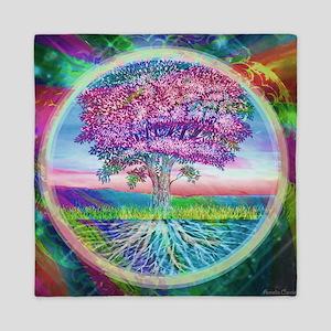 Tree of Life Blessings Queen Duvet