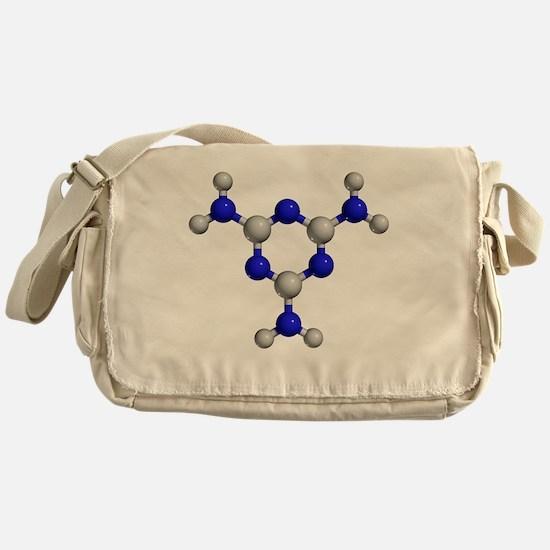 Melamine molecule - Messenger Bag