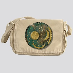 Nebra sky disk, Bronze Age - Messenger Bag