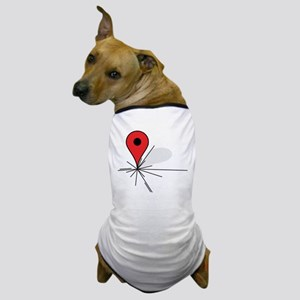 We Are Here (Pinned Edition) Dog T-Shirt