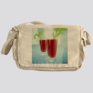 Bloody Mary cocktails - Messenger Bag