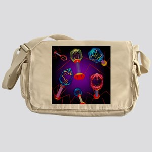 Bacteriophages - Messenger Bag