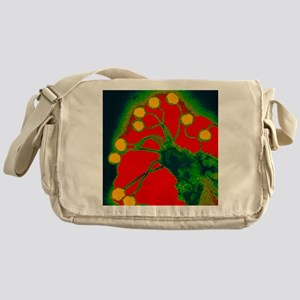acking bacteria - Messenger Bag