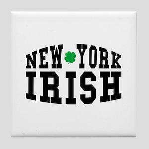 New York Irish Tile Coaster