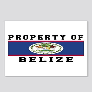 Property Of Belize Postcards (Package of 8)