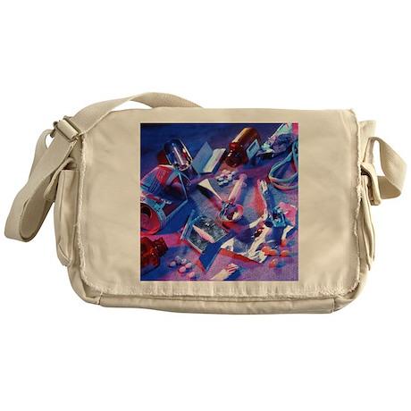 Drug abuse - Messenger Bag