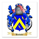 Backster Square Car Magnet 3
