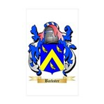 Backster Sticker (Rectangle 50 pk)