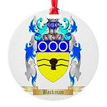Backman Round Ornament