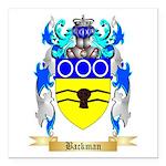 Backman Square Car Magnet 3