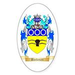 Backman Sticker (Oval)