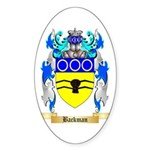 Backman Sticker (Oval 50 pk)