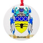 Backlund Round Ornament