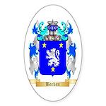 Backen Sticker (Oval 10 pk)