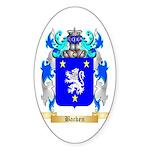 Backen Sticker (Oval 50 pk)