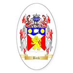 Back Sticker (Oval 10 pk)