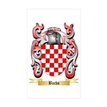 Bachs Sticker (Rectangle 50 pk)