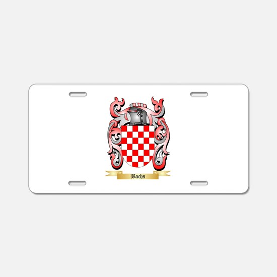 Bachs Aluminum License Plate