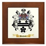 Bachnik Framed Tile