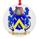 Bacher Round Ornament