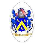 Bacher Sticker (Oval 50 pk)