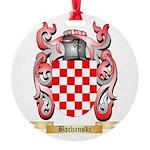 Bachanski Round Ornament