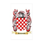 Bachanski Sticker (Rectangle 10 pk)