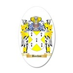 Bacchus 20x12 Oval Wall Decal