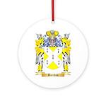 Bacchus Ornament (Round)