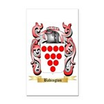 Babington Rectangle Car Magnet