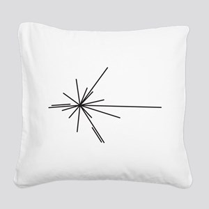 We Are Here Square Canvas Pillow