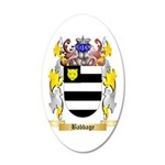 Babbage 35x21 Oval Wall Decal