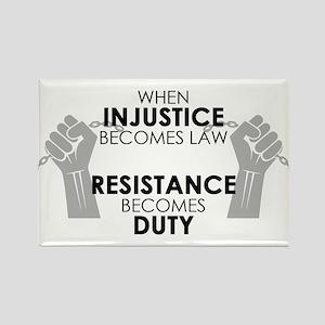 Injustice Rectangle Magnet