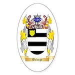 Babage Sticker (Oval 10 pk)