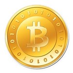 Bitcoins-1 Round Car Magnet